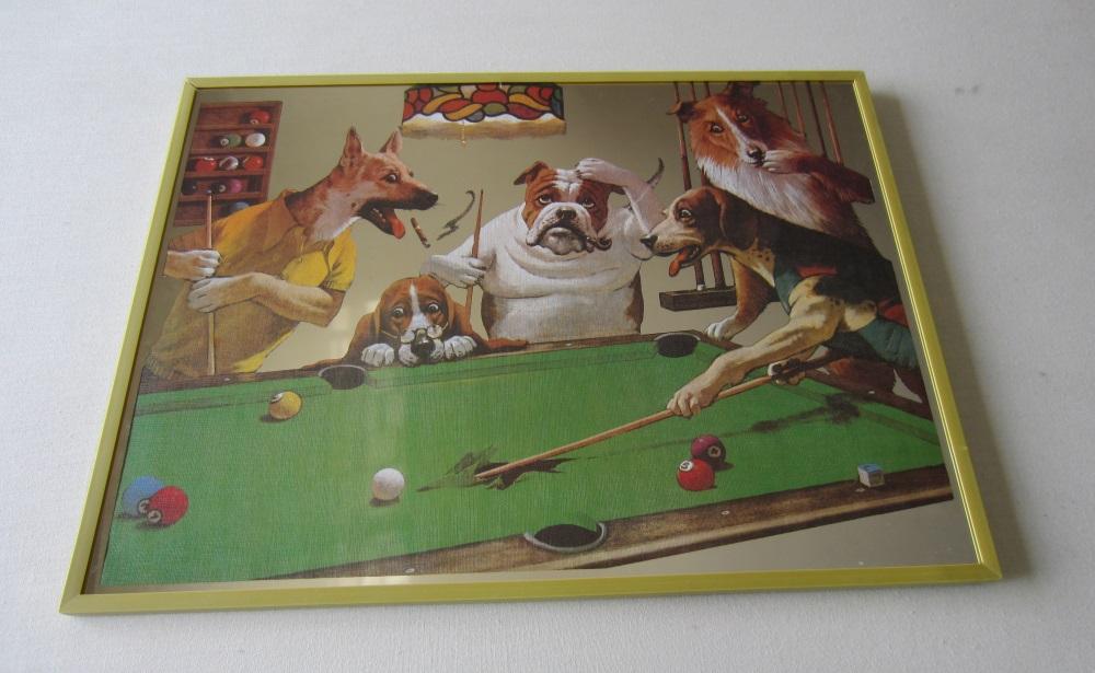 Espelho Velho c/ Cães (1 Unidades)