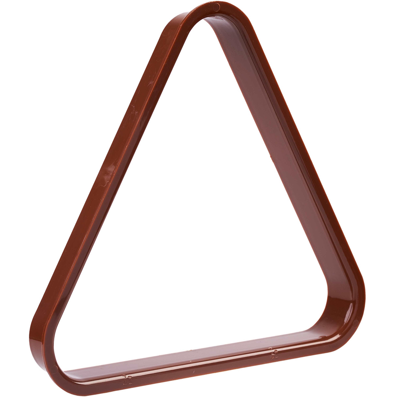 Triangulo Plástico Castanho 57mm
