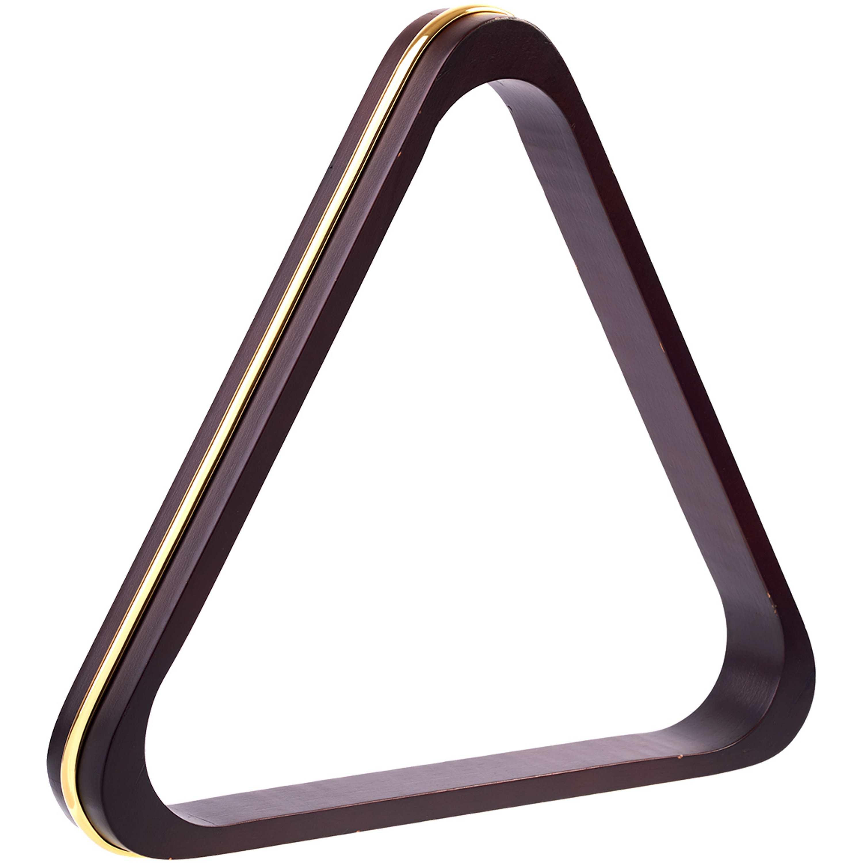 Triângulo Mogno c/ banda Dourada 52mm