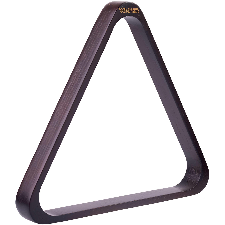 Triangulo Winner Acabamento Mogno