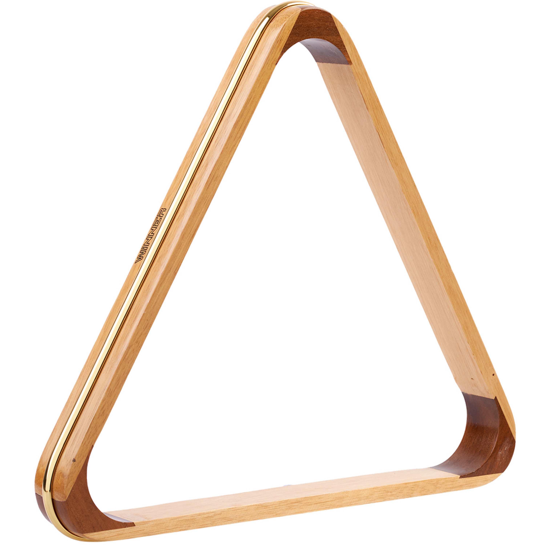 Triangulo Madeira Winner c/ Friso Dourado 57mm