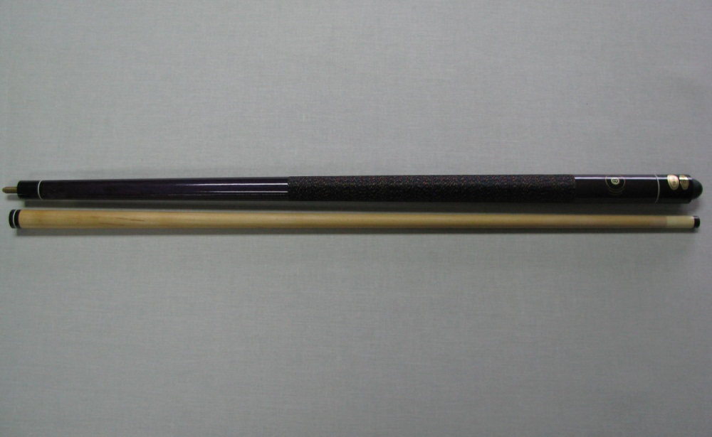 Taco Pool Bola 8 violeta - Rosca metal 13mm