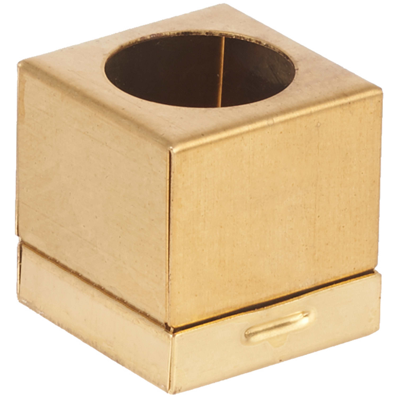 Porta Giz Deluxe Latão Dourado