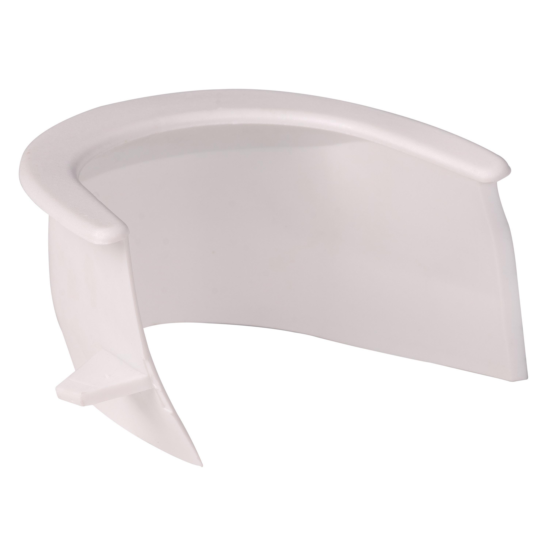 Canto Plástico Branco BC (Grande) - Unidade