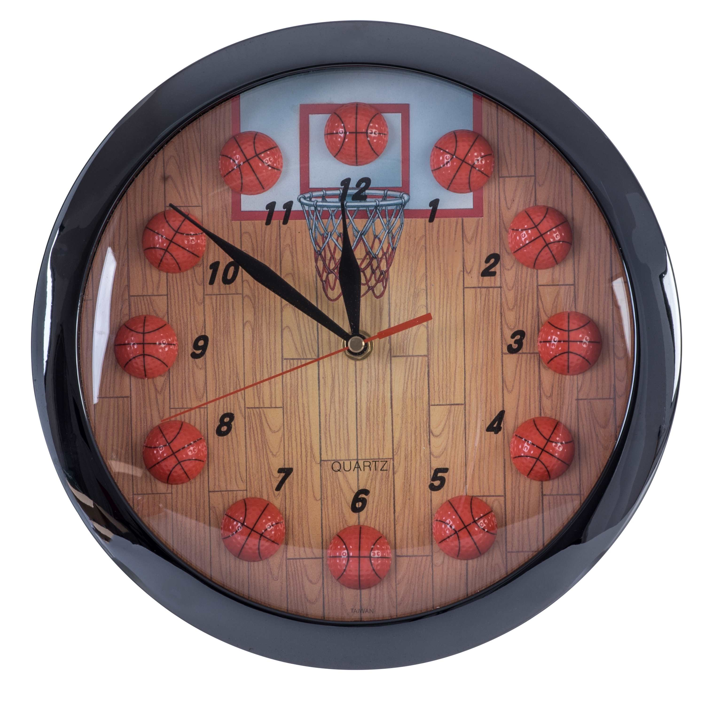 Relógio Redondo Basquetebol