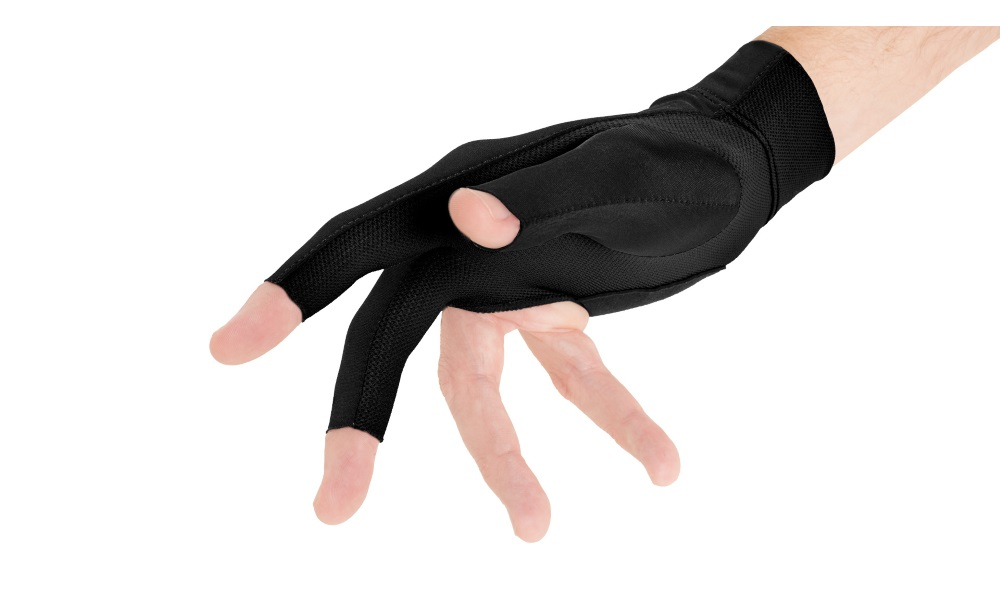 Luva Predator Second Skin preta S/M (mão direita)