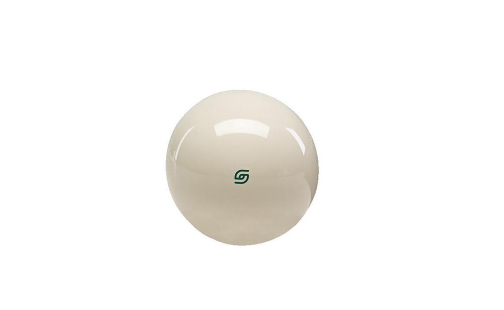Bola branca magnética c/ ponto verde