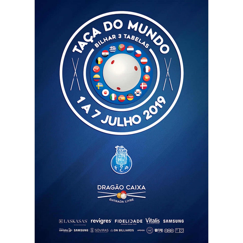 Taça do Mundo Bilhar 3 tabelas