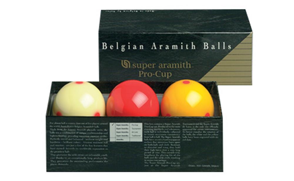 Jogo Bolas Livre Super Aramith Pro-Cup 61,5mm