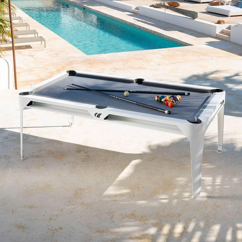 Mesa Pool de Exterior Hyphen branca