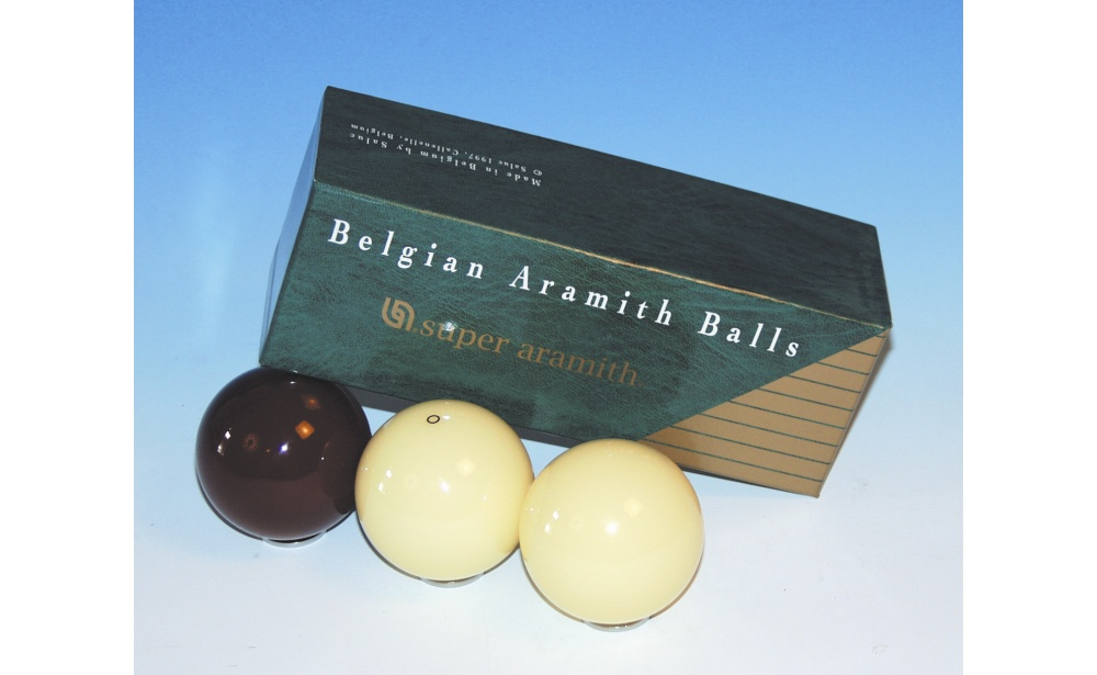 SET OF BALLS CAROM SUPER ARAMITH 61,5MM