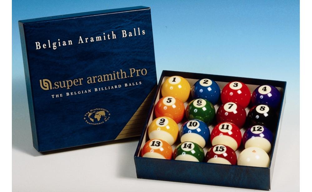 Jogo de Bolas Super Aramith Pro 57,2mm