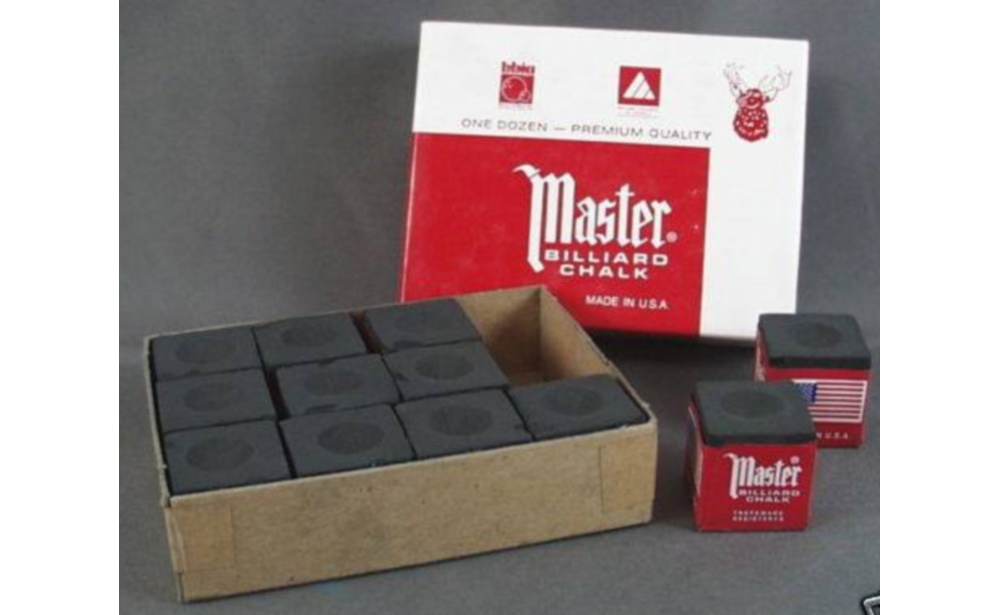 CHALK MASTER BLACK (BOX 12)